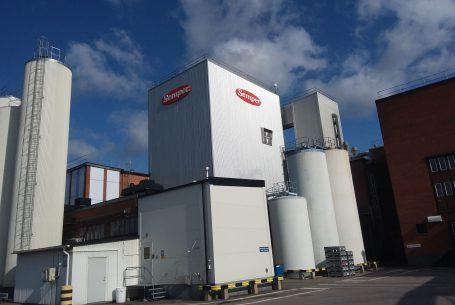 Semper Götene torrmjölktillverkning